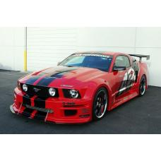 Ford Mustang S197 GT-R Widebody Aerodynamic Kit 2005-2009