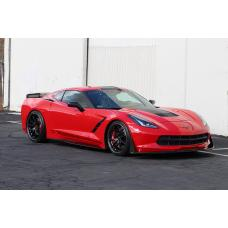 Chevrolet Corvette C7 Stingray Track Pack Aerodynamic Kit 2014-Up (Version 2)